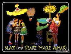 The quirky world of the Black Theatre Animato in #Prague