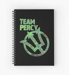 team percy Cuaderno de espiral