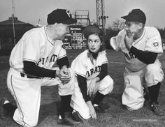 Angels in the Outfield - Publicity still of Paul Douglas & Janet Leigh