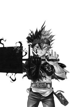 Cool Black Clover Wallpaper 2018 Wallpapers Hd Art Black
