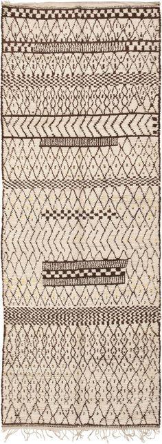 Vintage Moroccan Rug 46025 Detail/Large View