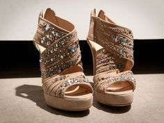 Love the sparkles on these! #shoes #heels