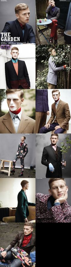 The Garden editorial for the fall 2012 edition of Ten Men
