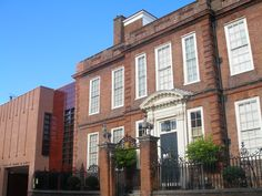 Pallant House Gallery in the summer