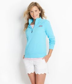 Women's Pullovers: Garment-Dyed Neon Shep Shirts for Women | vineyard vines