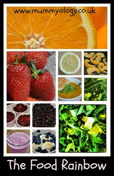 Mummyology: The Food Rainbow - Make your diet bright, interesting and delicious :-)