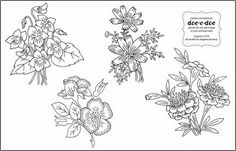 Doe-C-Doe Embroidery Patterns