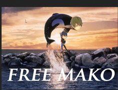 Free! Makoto by PeteyDee. Too funny