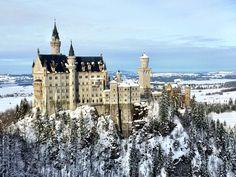 A Fairytale Winter's Day in Germany: Neuschwanstein Castle ...