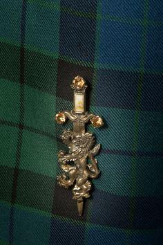 Stunning lion rampant Kilt pin with topaz stones. Scottish Kilts, Scottish Tartans, Scottish Dress, Jewelry Tags, Bridal Jewelry, Edinburgh, Glasgow Scotland, Princess Cut Diamond Earrings, Kilt Pin