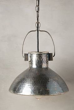 Act II Pendant Lamp, Anthropologie, $98. Over the sink? Or above the table?