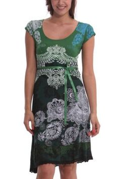 Desigual Women's Paris dress. One of our favorite styles for Desigual women and a best seller in previous seasons.