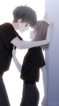 ideas for anime art coupel girls Anime Love Story, Tamako Love Story, Anime Love Couple, Couple Cartoon, Cute Couple Drawings, Anime Couples Drawings, Anime Couples Manga, Anime Guys, Anime Amor