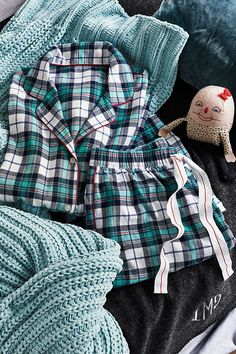 Classic flannel pajamas, a winter weekend afternoon's best friend and a favorite way to curl up with a good book on a chilly evening. Find more great gift ideas at LandsEnd.com