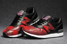 Men And Women New Balance 576 NB576 Shoes Made Usa Souvenir Edition Black Red|only US$65.00 - follow me to pick up couopons.