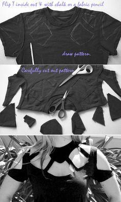 DIY T Shirt crafts craft ideas easy crafts diy ideas diy crafts diy clothes easy diy fun diy diy shirt craft clothes craft fashion craft shirt fashion diy