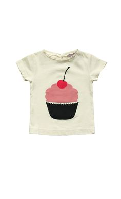 EMILE+ET+IDA+Camiseta+Cupcake