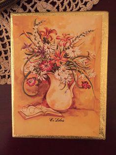 "Antioch ""Ex Libris"" Bookplates - Flower in Vase - Ephemera, Junk Journals, Scrapbooking, Paper Crafting, Embellishments Vintage Labels, Vintage Ephemera, Vintage Postcards, Vintage Children's Books, Vintage Paper, Yellow Springs, Scrap Material, Stamp Making, Ex Libris"