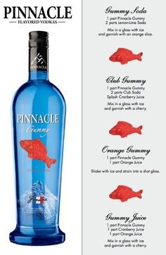 Pinnacle Gummy > I've done this I rocked at the Super Bowl Party :) Pinnacle Gummy > I've done this I rocked at the Super Bowl Party :) – Cocktails and Pretty Drinks Pinnacle Vodka Drinks, Pinnacle Recipes, Vodka Mixed Drinks, Vodka Recipes, Alcohol Recipes, Alcoholic Drinks, Drink Recipes, Flavored Vodka Drinks, Baileys Drinks