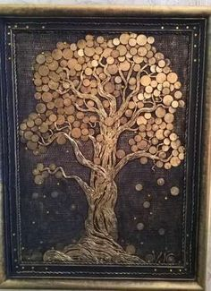 "Outstanding ""metal tree wall art decor"" info is offered on our website. Metal Tree Wall Art, Diy Wall Art, Metal Art, Tree Wall Decor, Wall Art Decor, Coin Art, Money Trees, Deco Floral, Tree Sculpture"