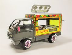 1/24 Aoshima Suzuki Kei Ice Cream Truck. - Scale Auto Magazine - For building plastic & resin scale model cars, trucks, motorcycles, & dioramas