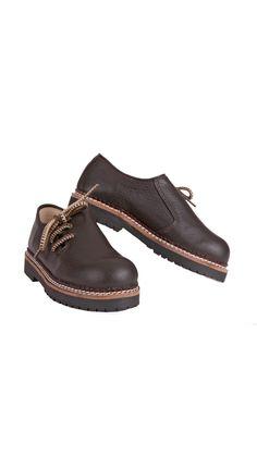 Für die kleinen Lederhosenträger - Kinder Haferl Schuhe