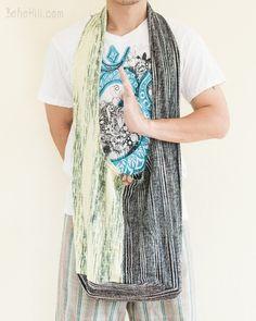 One of A Kind Handmade Patchwork Hippie Boho Shoulder Bag (MB-37)