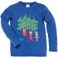 MY MONSTER TOP (CHILD 2-6YRS) by Polarn O. Pyret $28.00