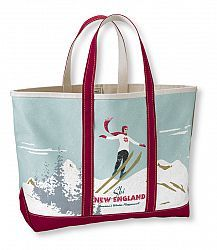 LL Bean: Skier Boat and Tote