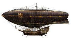 亗 Dr. Emporio Efikz 亗 blog | Steampunk Airship - U. Zeidler