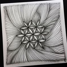 Zentangle 031616. #zentangle #zendoodle #doodle #doodleart #drawing #draw #art #artwork #painting #sketch #sketchbook #blackandwhite #zentangleart #zentangleinspiration #zenart #learnzentangle #onezentangleaday