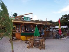 Pop into Elvis' Beach Bar and grab a Mamawanna shot!     Note: One is probably enough.