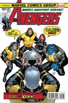 """Okay, how about """"The Line it is Drawn"""" where fans spoof other Marvel covers with the X-Men (and a """"Squadron Supreme"""" mini by Mark Waid set before the """"Defenders"""" story)?"""