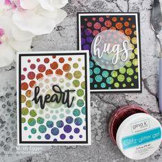 Card making tips, tricks and tutorials Cloud Stencil, Scrapbook Blog, Card Making Tips, Handmade Birthday Cards, Handmade Cards, Glitter Gel, Ink Stamps, Craft Box, Stencil Designs