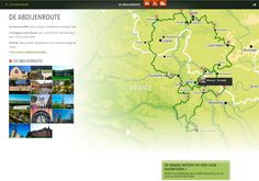 A real treat for map lovers. The website of Ardenne All Access where you can plan your own trip with integrations of video and photography.