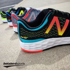 Runners seeking lightweight stability and cushioning will love the New Balance Fresh Foam Vongo. There's no need to give up support with a lighter weight package. Take these #runningshoes out on your longest run and never feel weighed down.  Grab it in your favorite #colorway today!   #runholabird #NewBalance #FreshFoam #Vongo #FreshFoamVongo #Running #Run #NewShoes #LightweightStability