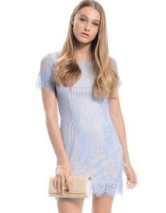 Shop ModDeals.com for Blue Low Back Lace Dress in our cheap trendy Dresses category. Find trendy cheap clothing for women, discount shoes, jewelry sales, perfume & cheap accessories for women.