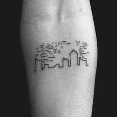 Lovely arqui-tattoo  Via @universoarquitetonico #worldofartists