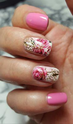 Short Natural Nails, Natural Nail Designs, My Nails, Beauty, Cosmetology