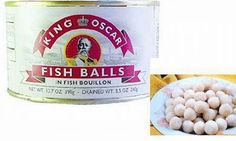Fish Balls 30 Canned Foods You Never Knew Existed Food Network Humor, Food Humor, Food Network Recipes, Funny Food, Gross Food, Weird Food, Scary Food, Oscar Fish, Eat Slowly