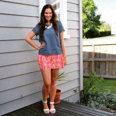 #everydaystyle #summerstyle #printedshorts #stylecoach