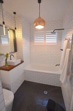 A great read on more about Tiny Bathroom Renovation- A great read on more about . A great read on Wood Bathroom, Bathroom Floor Tiles, White Bathroom, Modern Bathroom, Bathroom Ideas, Bathroom Renovations, Bathroom Small, Bathroom Vanities, Bathroom Storage