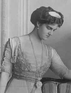 Grande-duchesse Maria Pavlovna de Russie (1890-1958) épouse du prince Guillaume de Suède