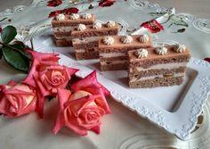 Fahéjas- őszibarackos szelet | Izabela Ráczová receptje - Cookpad receptek Cake Recipes, Waffles, Sugar, Cookies, Breakfast, Food, Anna, Treats, Sweet