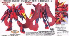 [close] Nebra Blitz Gundam (1/100) (Gundam Model Kits) Item picture5