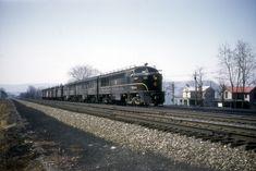Pennsylvania Railroad, Train Pictures, Diesel, Model, Color, Diesel Fuel, Scale Model, Colour