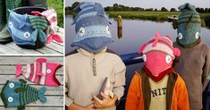 Knit this funny Fish Hat for your child!