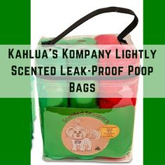 My review of Kahlua's Kompany lightly scented leak-proof poop bag review. I recently saw these poop bags posted on Instagram and wanted to give them a try. I'm always happy to help a small business and we always need poop bags!! Read my review! #happyabundantyou