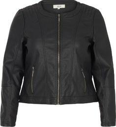 Motorcycle Jacket, Leather Jacket, Athletic, Zip, Fashion, Fall Winter, Jackets, Studded Leather Jacket, Moda