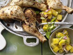 Rezept: Jamaikanische Hähnchenkeulen